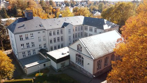 Blick auf unsere Schule